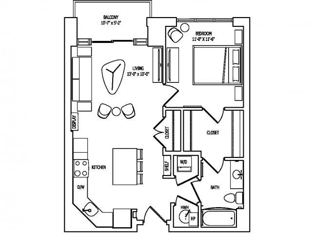 Floor Plan 5 | Pallas at PikeRose