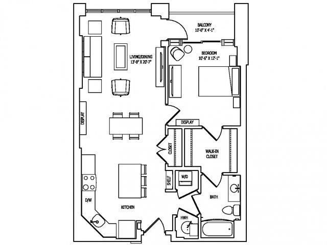 Floor Plan 6 | Pallas at PikeRose