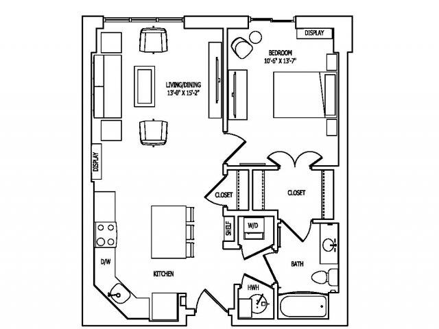 Floor Plan 7 | Pallas at PikeRose