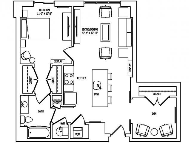 Floor Plan 8 | Pallas at PikeRose