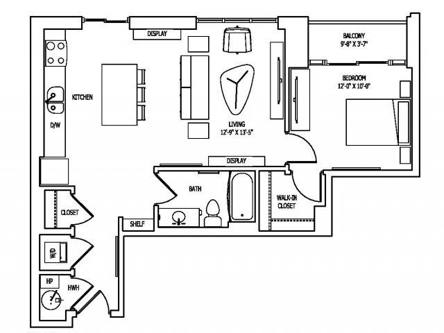 Floor Plan 14 | Pallas at PikeRose