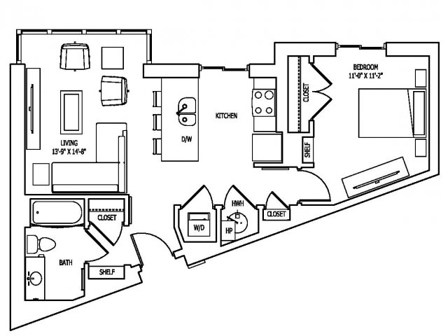 Floor Plan 16 | Pallas at PikeRose