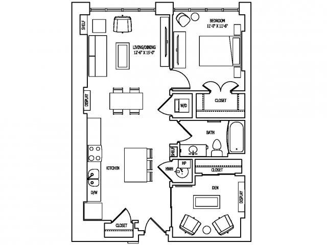 Floor Plan 17 | Pallas at PikeRose