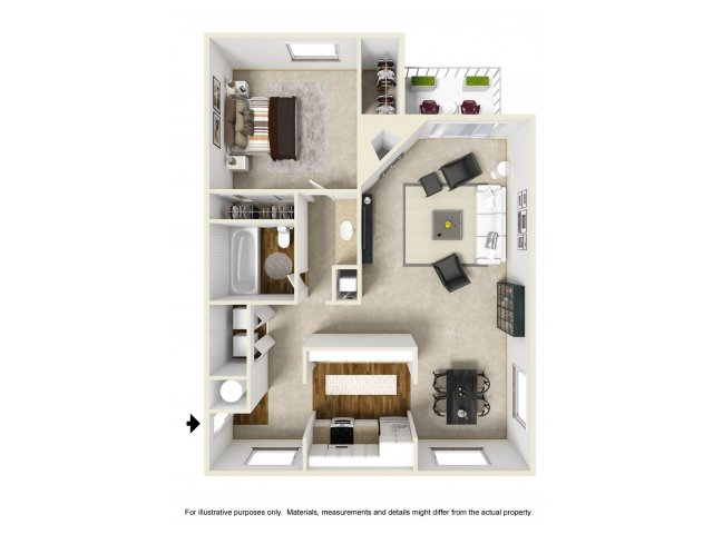 Floor Plan 4 | Chazal Scottsdale 2