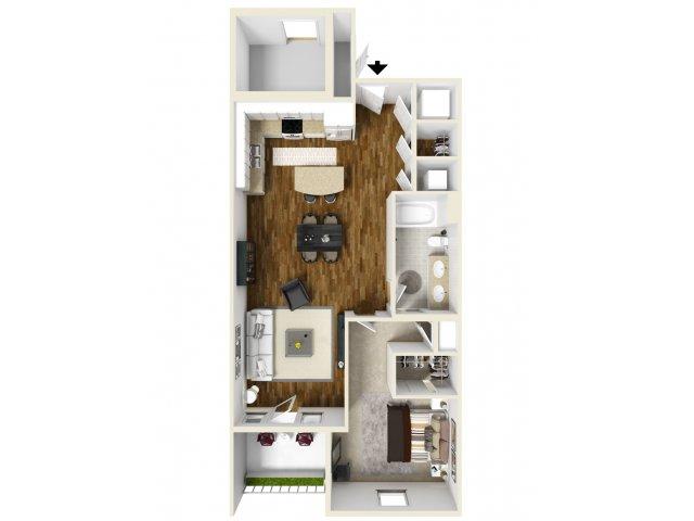 1 Bed 1 Bath | Navarre Apartments | The Sound at Navarre Beach