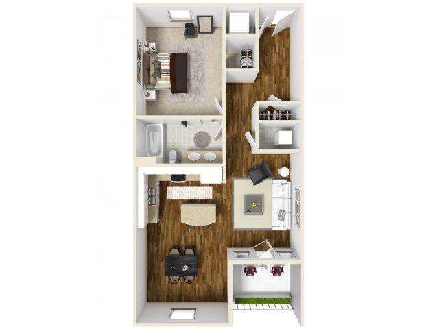 1 Bed 1 Bath 2 | Navarre Apartments | The Sound at Navarre Beach