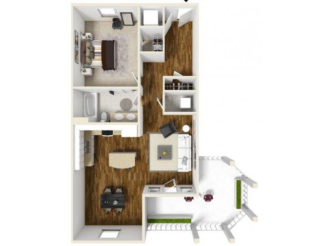 1 Bed 1 Bath 3 | Navarre Apartments | The Sound at Navarre Beach