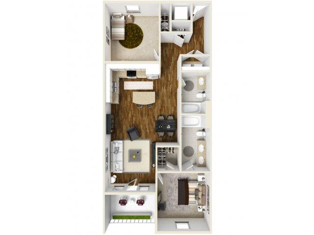 2 Bed 2 Bath | Navarre Apartments | The Sound at Navarre Beach