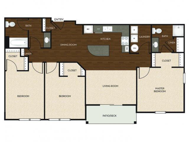 Floor Plan 11 | University Commons