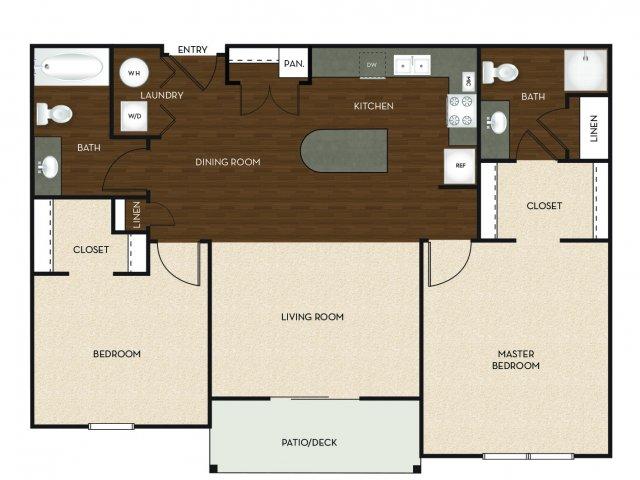 Floor Plan 8 | University Commons