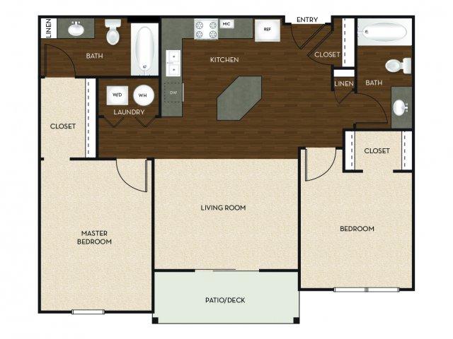 Floor Plan 7 | University Commons