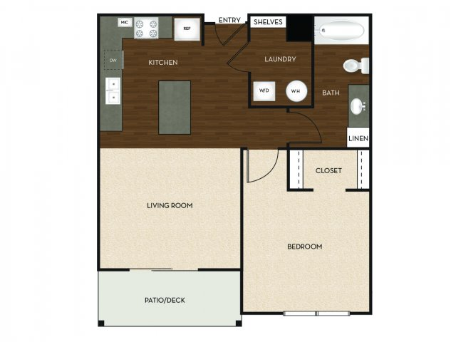 Floor Plan 16 | University Commons