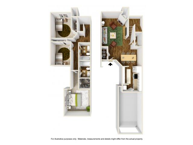 Floor Plan 2 | Rivercrest Meadows 4