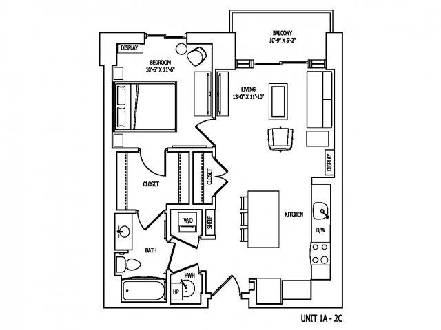 Floor Plan 4 | Pallas at PikeRose