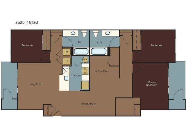 Floor Plan 12 | The Homestead