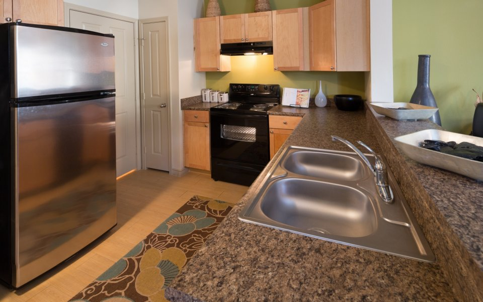 Fort Worth Apartments | Greens of Fossil Lake Kitchen