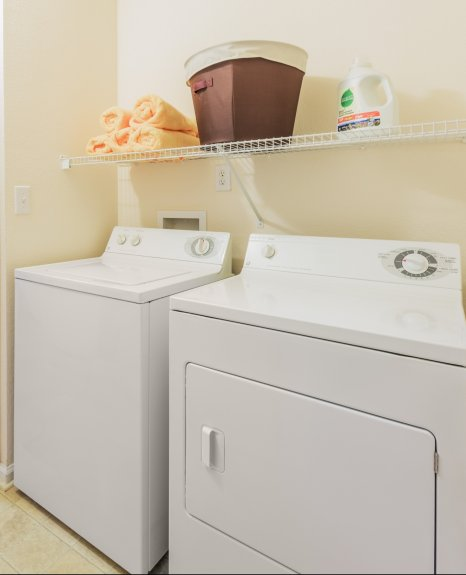 In-home Laundry  | Charlotte Apt | Courtney Ridge