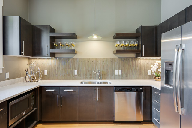 State Of The Art Kitchen | Apartment In Eugene Oregon | The Bailey