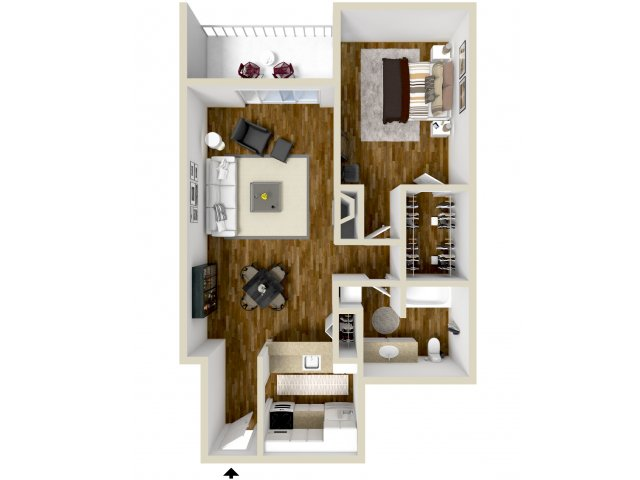 Floor Plan | Dayton Crossing 1