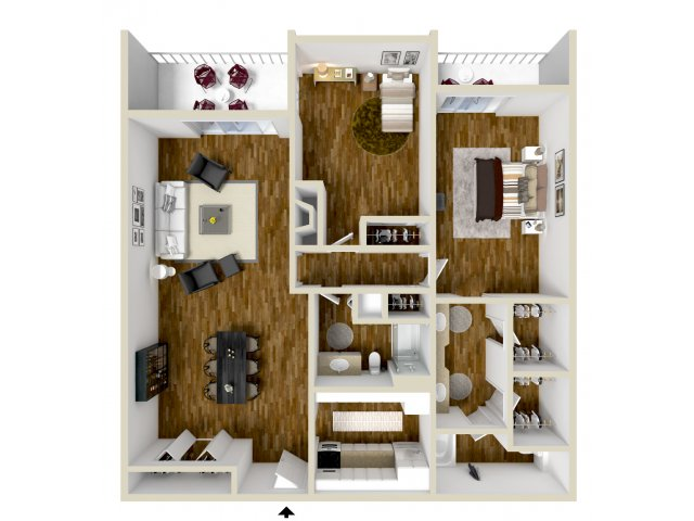 Floor Plan 3 | Dayton Crossing 1