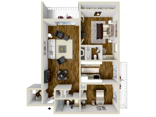 Floor Plan 5 | Dayton Crossing 1