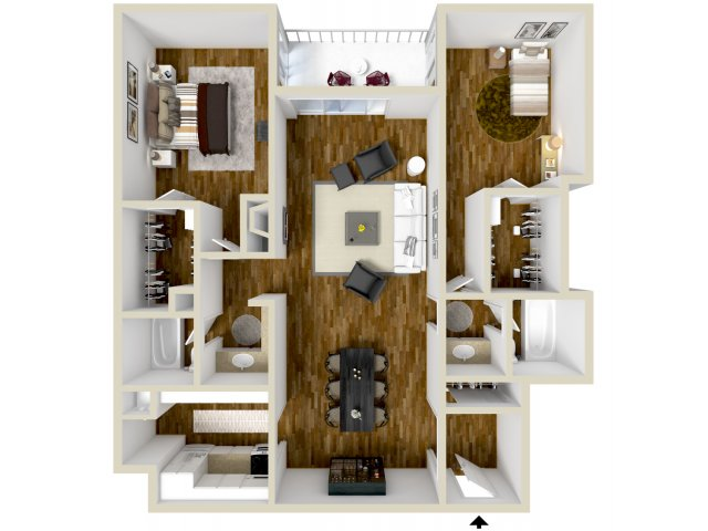 Floor Plan 7 | Dayton Crossing 1
