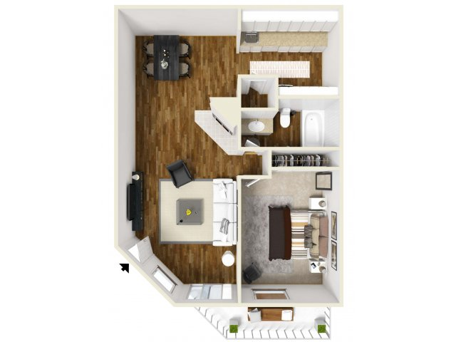 Floor Plan | Village Creek 2