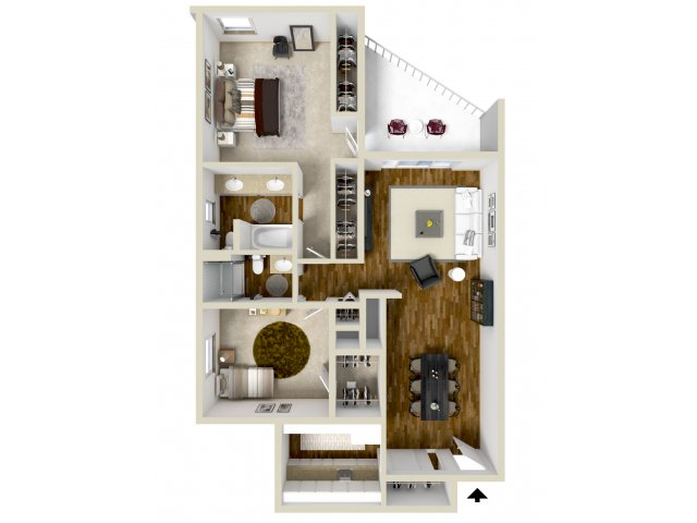 Floor Plan 8 | Woodstream Village