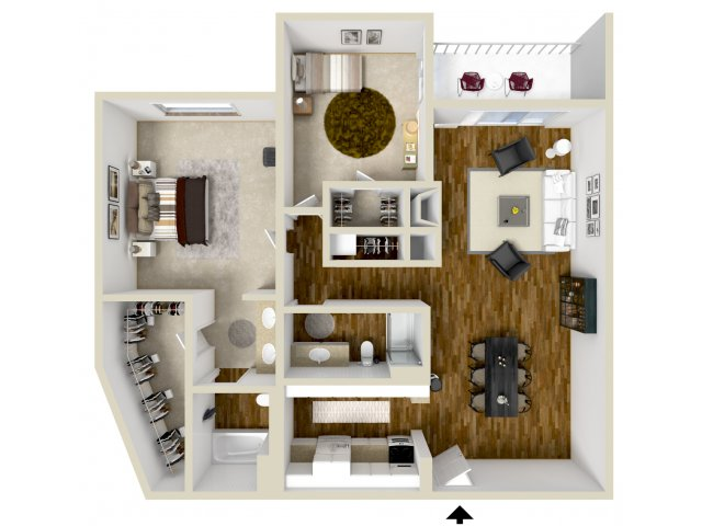Floor Plan 14 | Woodstream Village