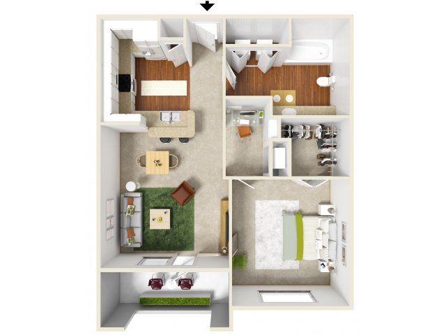 Floor Plan 2 | San Miguel 1