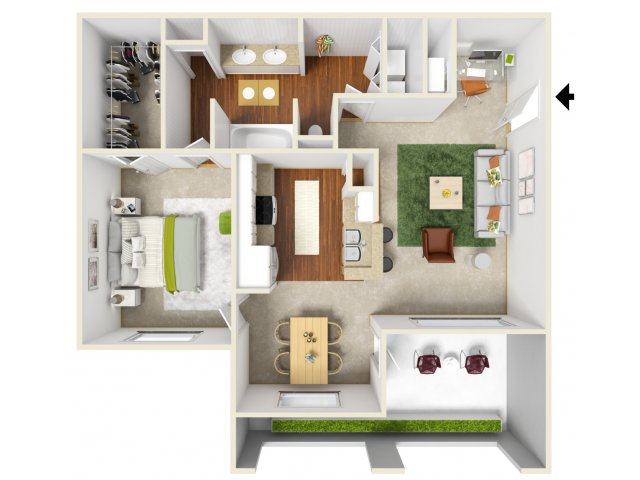 Floor Plan 4 | San Miguel 1