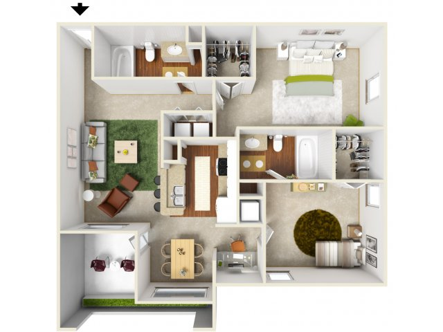 Floor Plan 5 | San Miguel 1