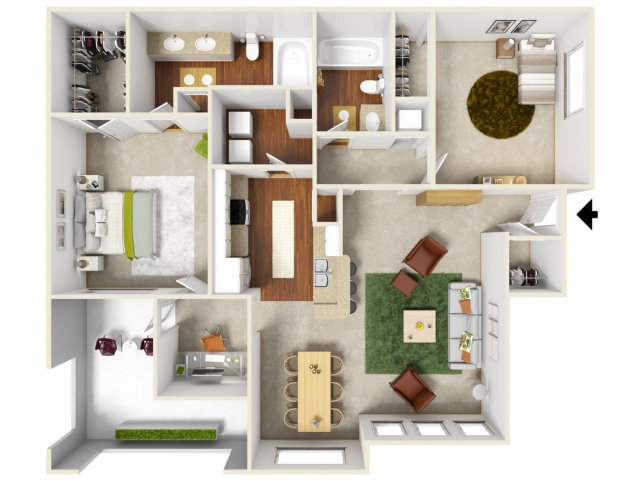 Floor Plan 6 | San Miguel 1