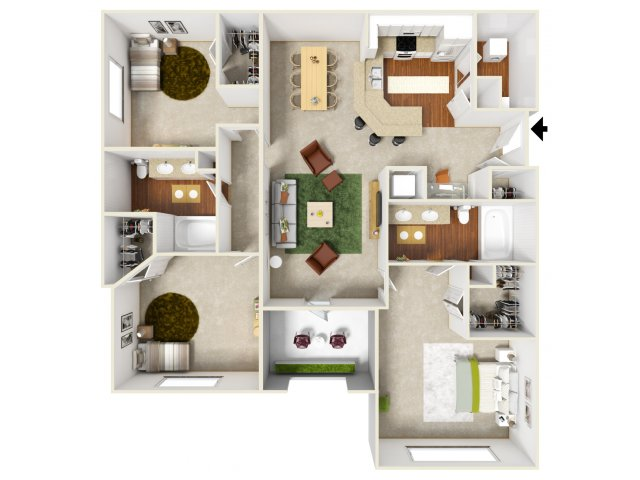 Floor Plan 7 | San Miguel 1