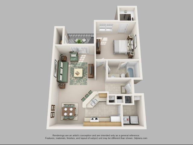 one bedroom floor plans apartments in charlotte nc courtney ridge - One Bedroom Apartments Charlotte Nc