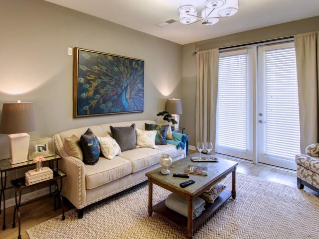 elegant living room 1 bedroom apartment charlotte nc alexander village - One Bedroom Apartments Charlotte Nc