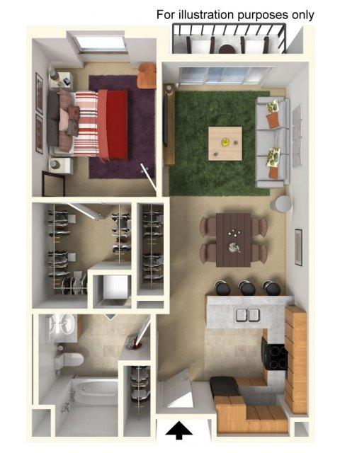 Floor Plan 2 | Redmond Square