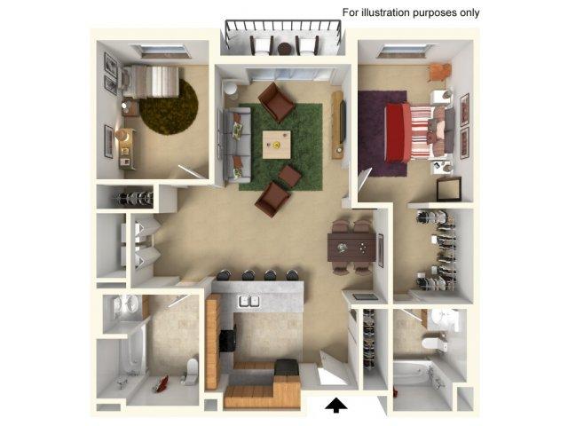 Floor Plan 4 | Redmond Square