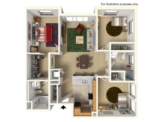 Floor Plan 5 | Redmond Square
