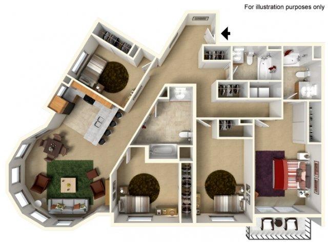 Floor Plan 6 | Redmond Square