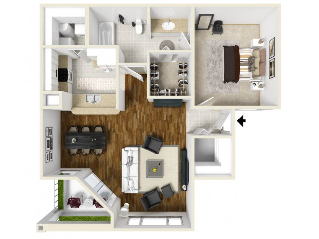 Floorplan 3 | Orlando FL Apartments