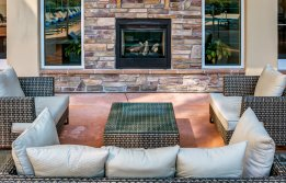 Resident Fire Pit | Apex Apartments Tacoma |