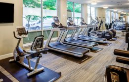 Resident Fitness Center | Tacoma Washington Apartments |