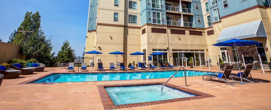 Resort Style Pool | Apex Apartments