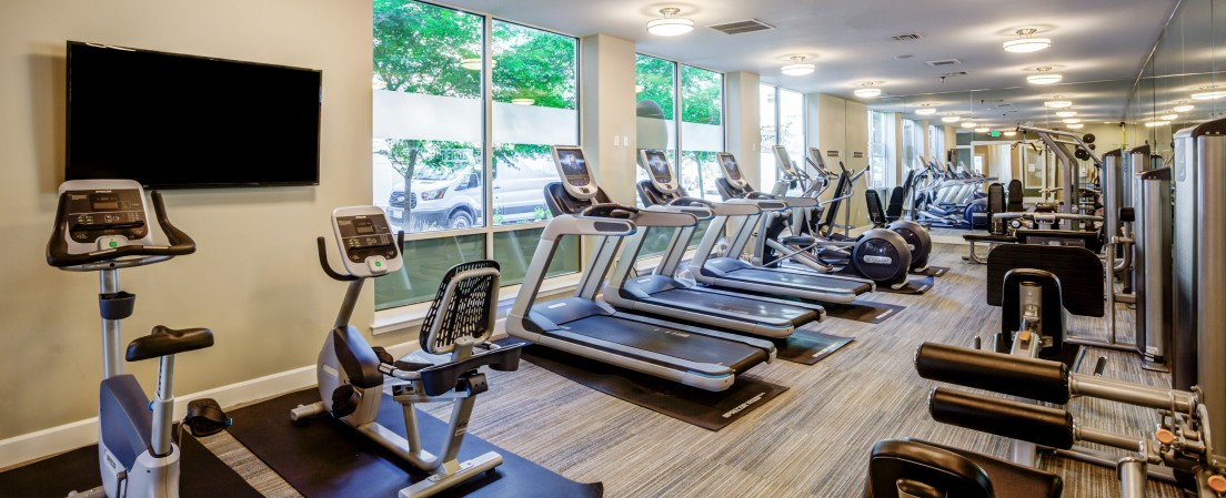 Resident Fitness Center | Apex Apartments
