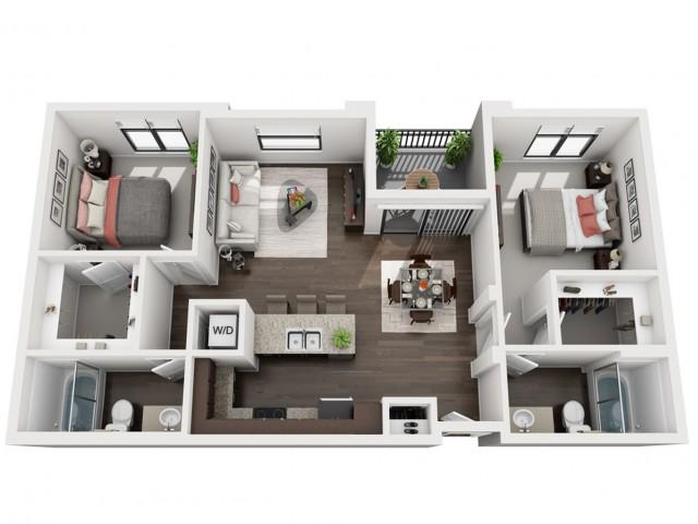 Floor Plan 1 | Solaire