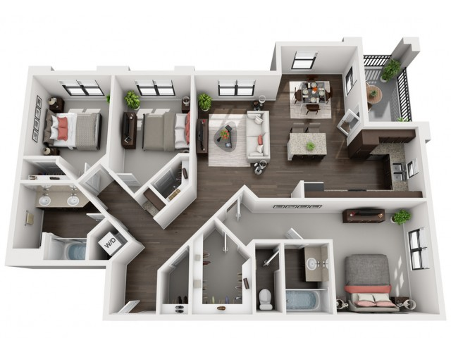 Floor Plan 3 | Solaire