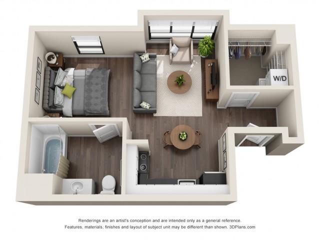 Floor Plan | Wilshire Vermont