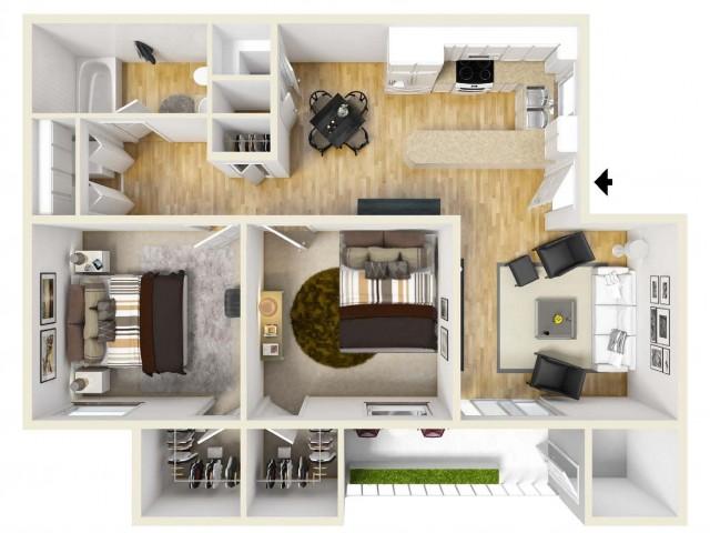 Floor Plan 4   Palm Court
