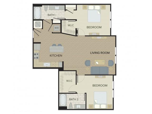 Spacious Floor Plans | Port Orange FL Apartments | Sanctuary at West Port